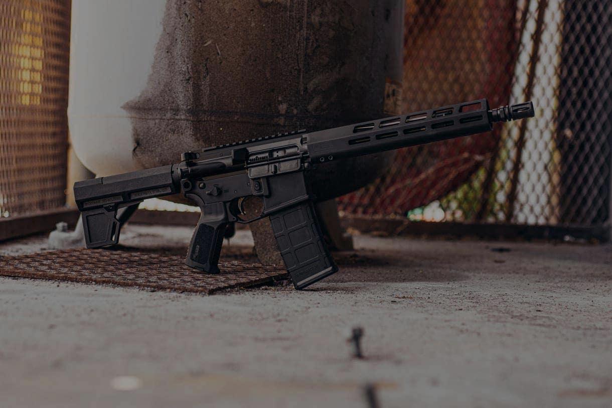 A SIG SAUER M400 rifle