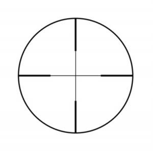 Duplex scope crosshairs